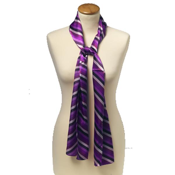 Écharpe rayé violet   E-Shop  mode à petit prix   31176aa1e362