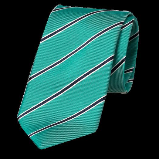 guetter vente la moins chère Achat Cravate Vert Menthe Rayée