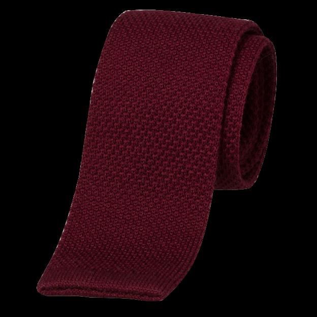 aa247b465bad8 Cravate tricot rouge bordeaux | mode à petit prix