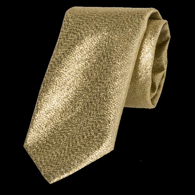 afe32bb8c1fc2 Cravate dorée - brillante | Mode à petit prix
