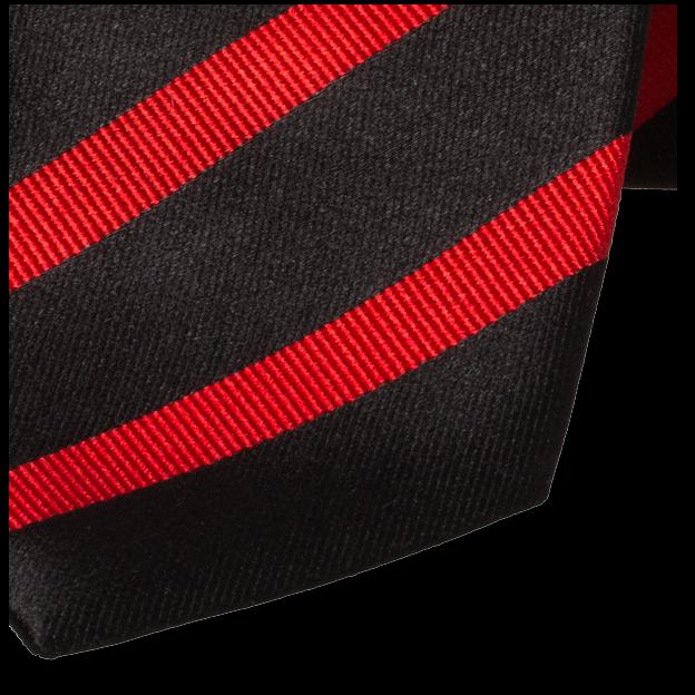 9bc730556e26f Cravate noire/rouge   E-Shop: cravates à petit prix