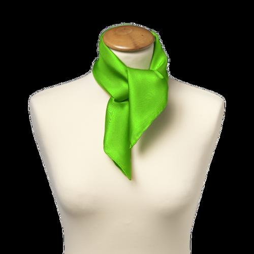 Foulard vert pomme - soie   E-Shop  mode à petit prix 80f55afa4e7