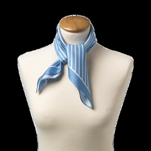 Foulard bleu clair - soie   E-Shop  mode à petit prix 979aef84b49