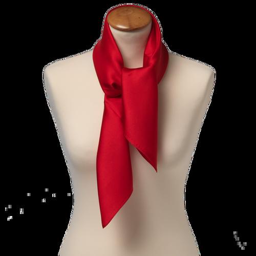 foulard rouge soie shop en ligne. Black Bedroom Furniture Sets. Home Design Ideas