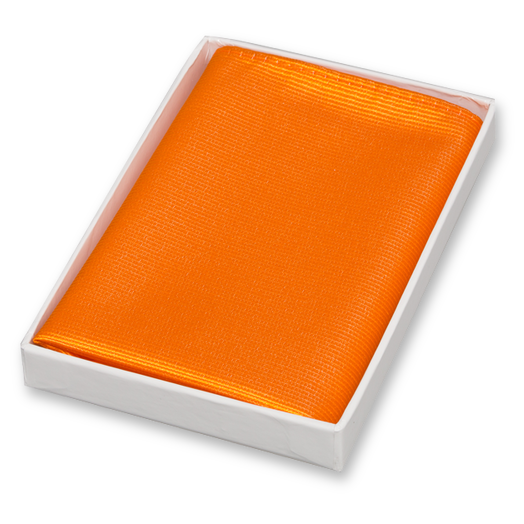 Pochette Orange - Soie (1)