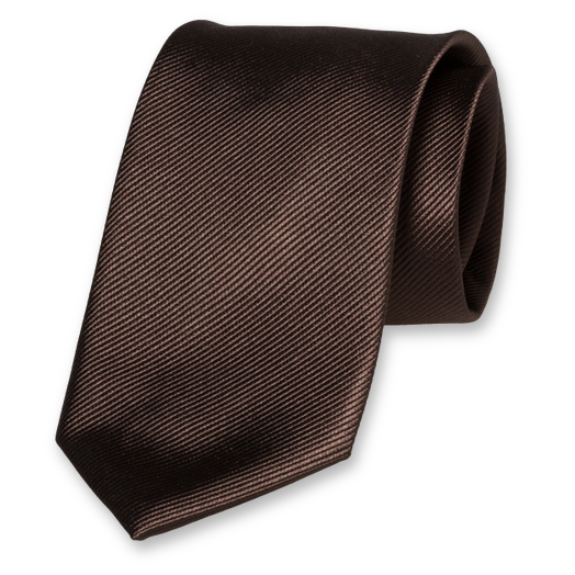 Cravate Homme Marron - Soie (1)