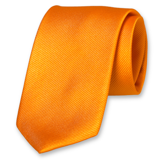 Cravate Homme Orange - Soie (1)