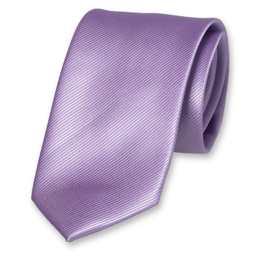 Cravate Lilas en Polyester (1)