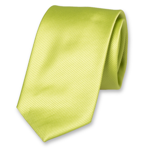 Cravate Lime en Polyester (1)