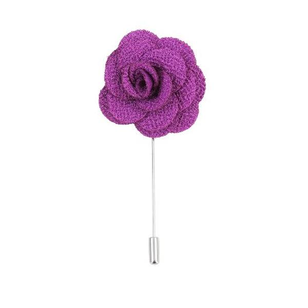 Nouer la cravate avec mouchoir violet Mauve /& noir Floral