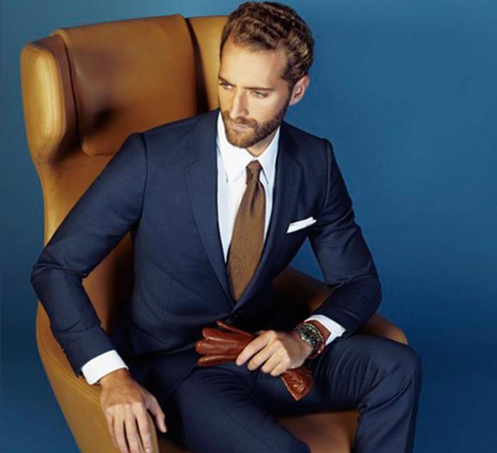 haute couture style de mode classique chic Assortir sa pochette de costume à sa cravate !