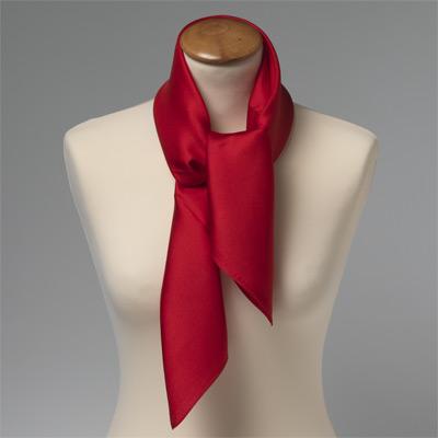 foulard rouge en soie cravates shop. Black Bedroom Furniture Sets. Home Design Ideas
