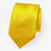 Cravate en jaune