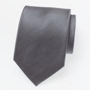 Cravate gris foncé