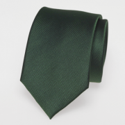cravate en vert foncé