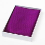 Pochette en soie violette