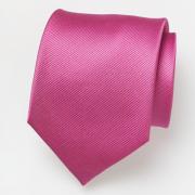 Cravate rose fuchsia