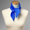 foulard bleu royal