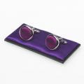 Boutons de manchette violet