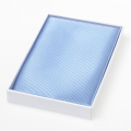 Pochette bleu clair