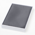 pochette gris foncé
